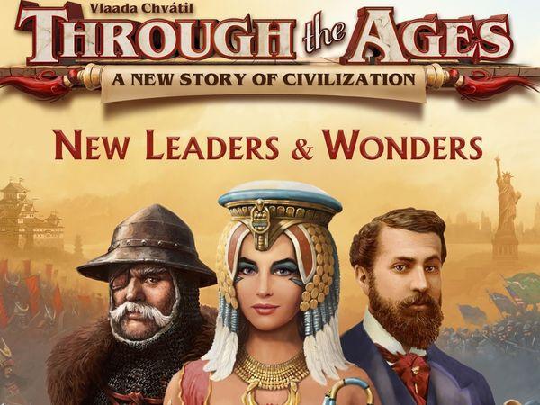 Bild zu Alle Brettspiele-Spiel Through the Ages: Neue Anführer und Wunder
