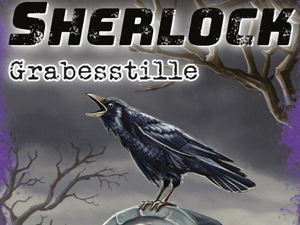 Bild zu Alle Brettspiele-Spiel Sherlock: Grabesstille