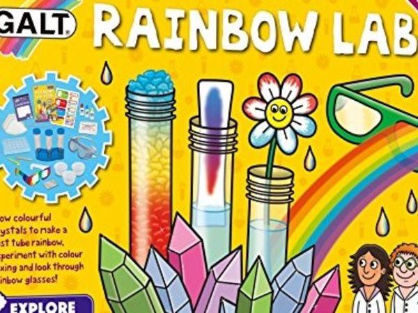Bild zu Alle Brettspiele-Spiel Regenbogenlabor (Explore & Discover Labs)