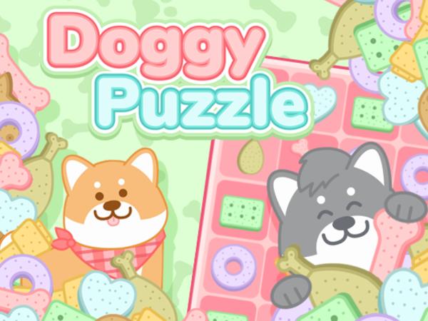 Bild zu Denken-Spiel Doggy Puzzle