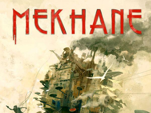 Bild zu Alle Brettspiele-Spiel MEKHANE