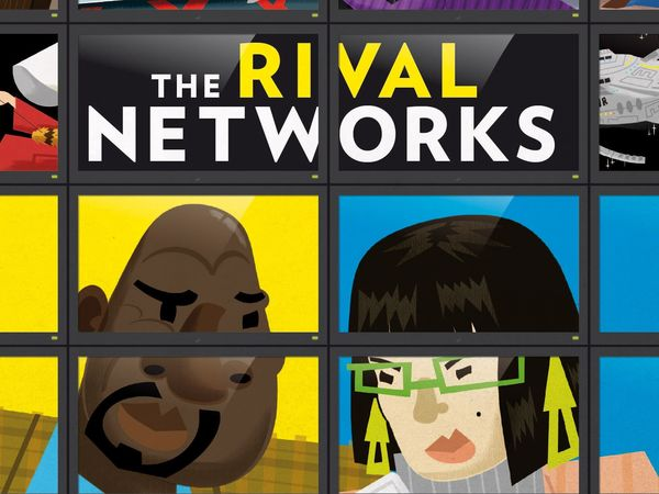 Bild zu Alle Brettspiele-Spiel The Rival Networks