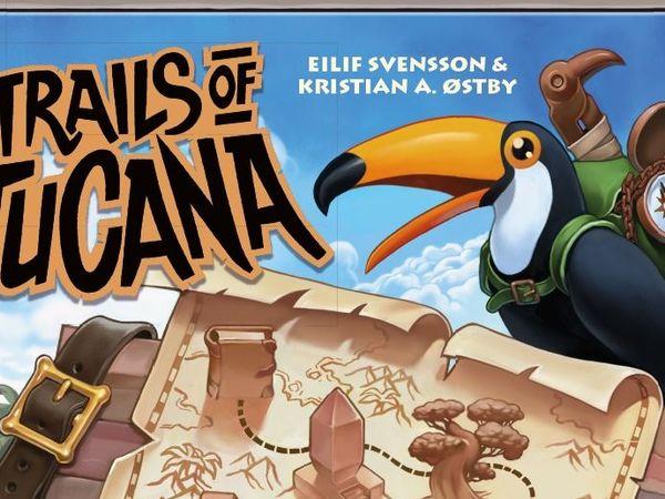 Bild zu Alle Brettspiele-Spiel Trails of Tucana (deutsche Edition)