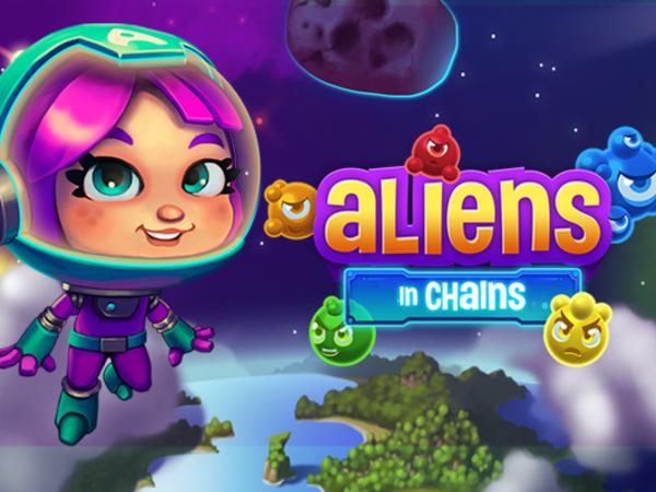 Bild zu HTML5-Spiel Aliens in Chains