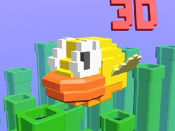 Bild zu Geschick-Spiel Flappy Bird 3D