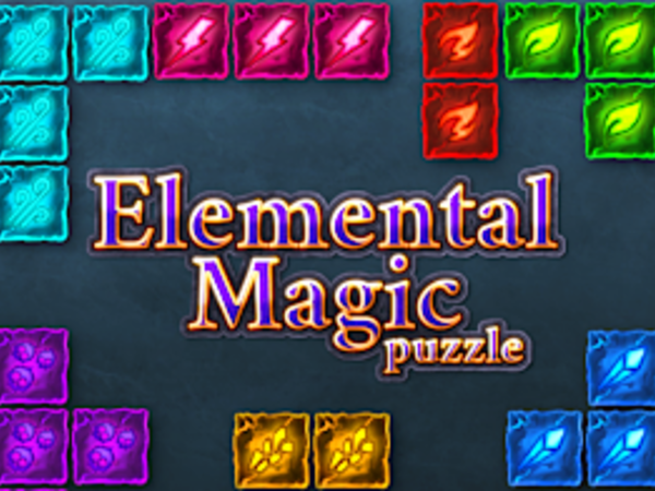 Bild zu Top-Spiel Elemental Magic Puzzle