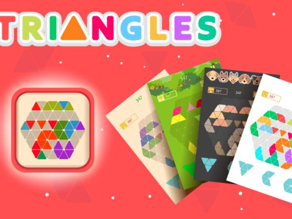 Bild zu Denken-Spiel Triangles