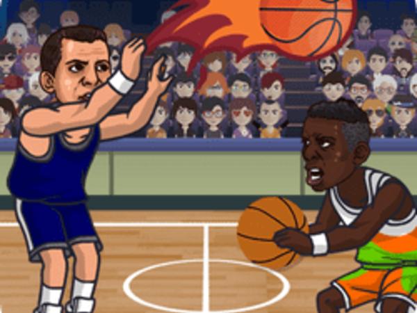 Bild zu Sport-Spiel Basketball Swooshes