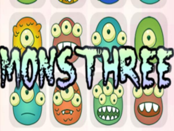 Bild zu Denken-Spiel MonsThree