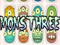 Denken-Spiel MonsThree spielen
