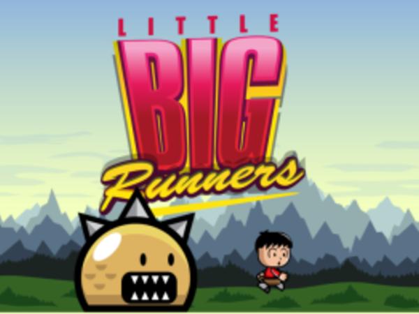 Bild zu Geschick-Spiel Little Big Runners