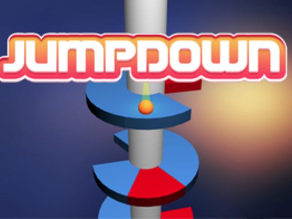 Bild zu Geschick-Spiel Jump Down
