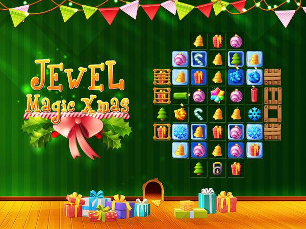 Bild zu HTML5-Spiel Jewel Magic X-Mas