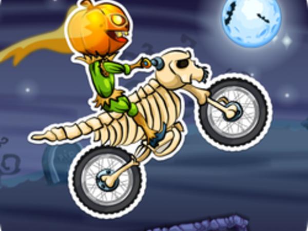 Bild zu Sport-Spiel Moto X3M: Spooky Land