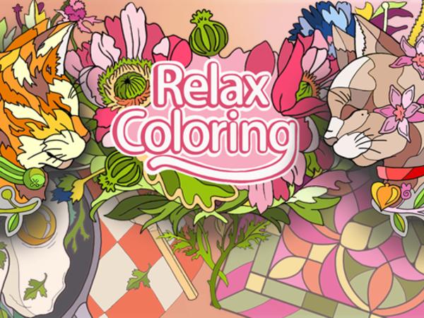 Bild zu Kinder-Spiel Relax Coloring