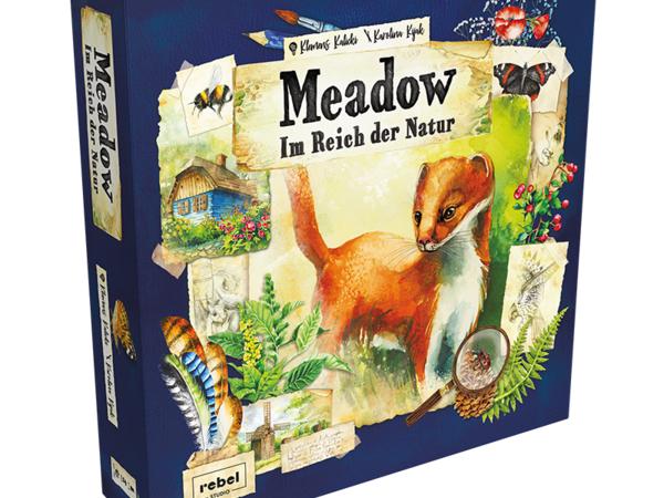 Bild zu Alle Brettspiele-Spiel Meadow - Im Reich der Natur