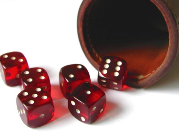 Bild zu Alle Brettspiele-Spiel Zehntausend (Macke)