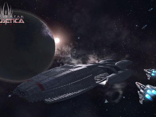 Battlestar Galactica Online Screenshot 1