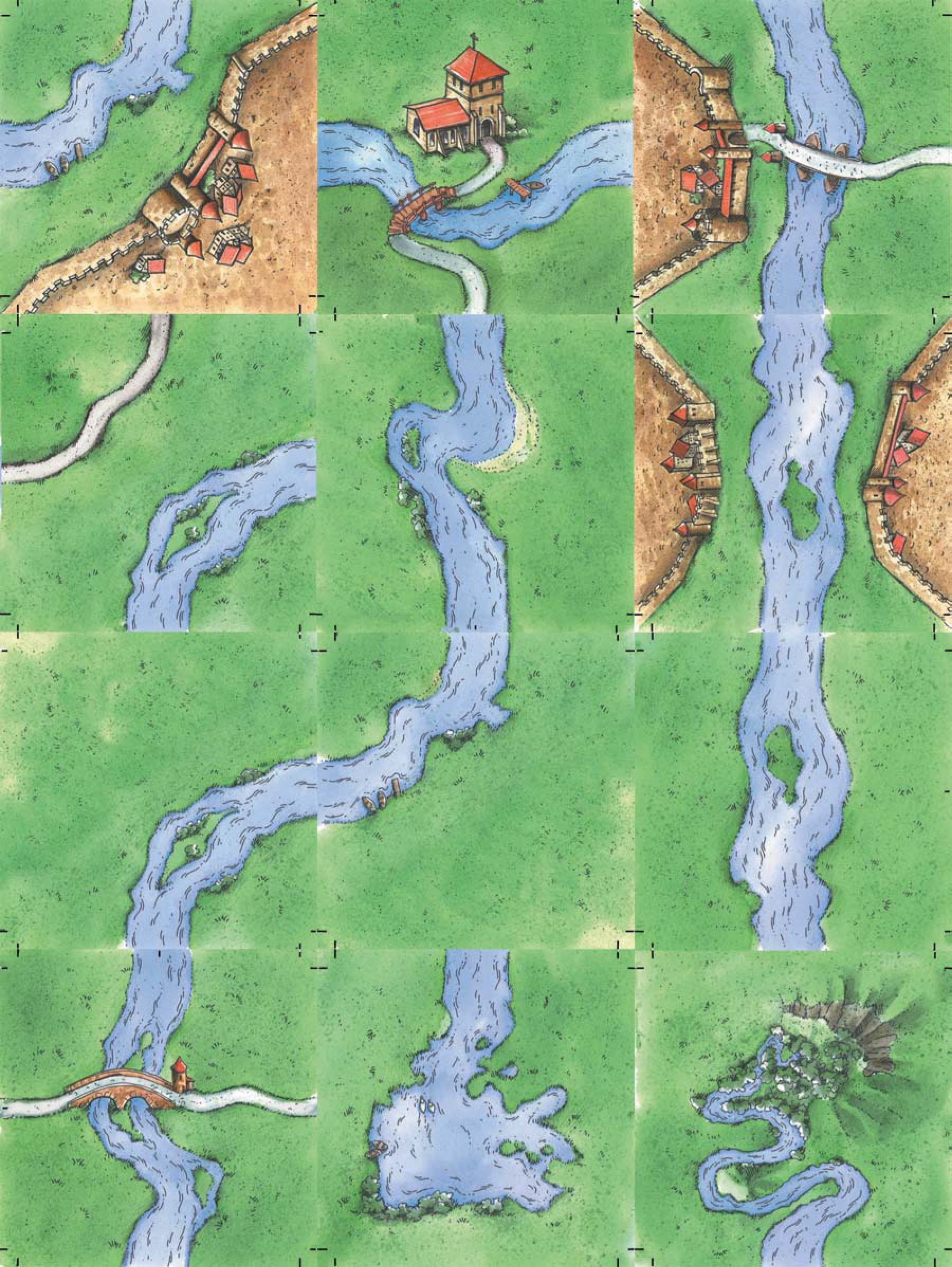 Carcassonne Fluss