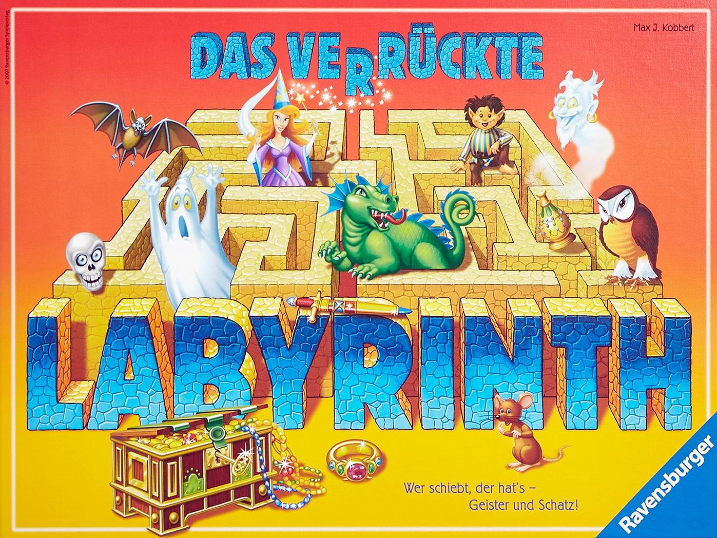 Labyrinth Das Kartenspiel Anleitung